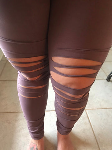 Shut It Down Cut Out Leggings