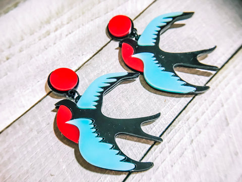 Woodstock Bird Earrings