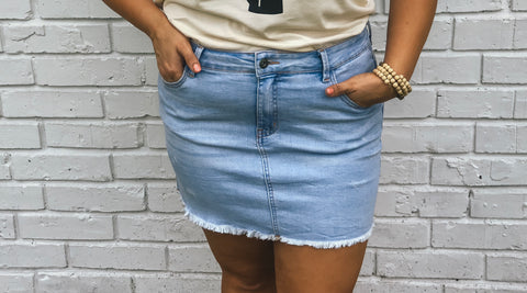 Alibis Denim Skirt