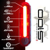 S100® 100 Lumen USB Tail Light