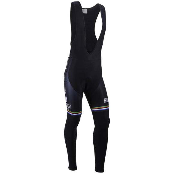 Bianchi-Milano TERMINIO Bib Tights | World Champ Stripes 2021