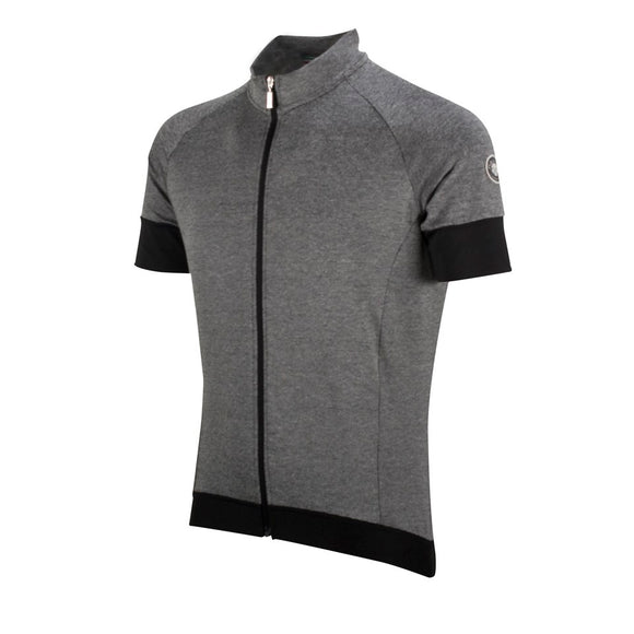 Nalini Aventino Wool Short Sleeve Cycling Jersey (Black)