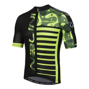 Nalini Cross MTB SS Jersey Black/Yellow 2018