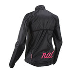 Nalini Women's Black Wind Jacket - ACQUARIA