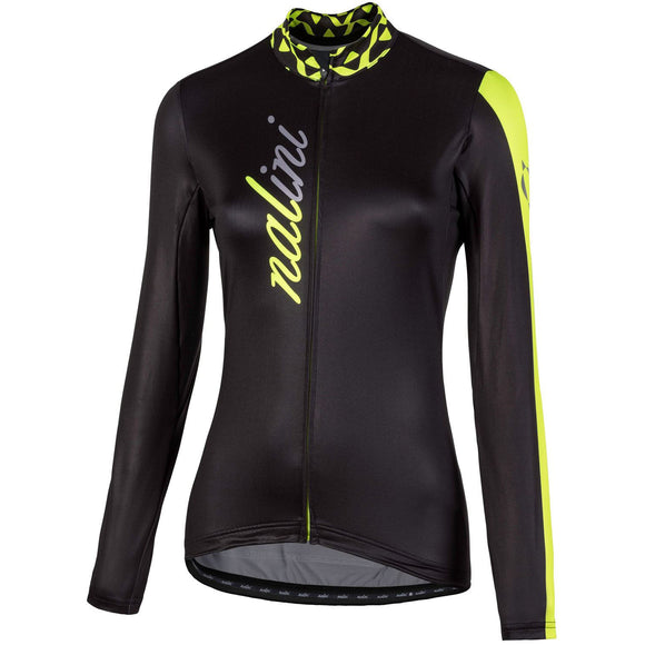 Nalini LW Women's Long Sleeve Jersey Black/Fluo