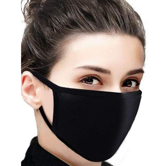 AirProtect2 (2-Layered) Face Mask - Black