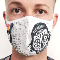 AirProtect Face Mask - Racing Skull