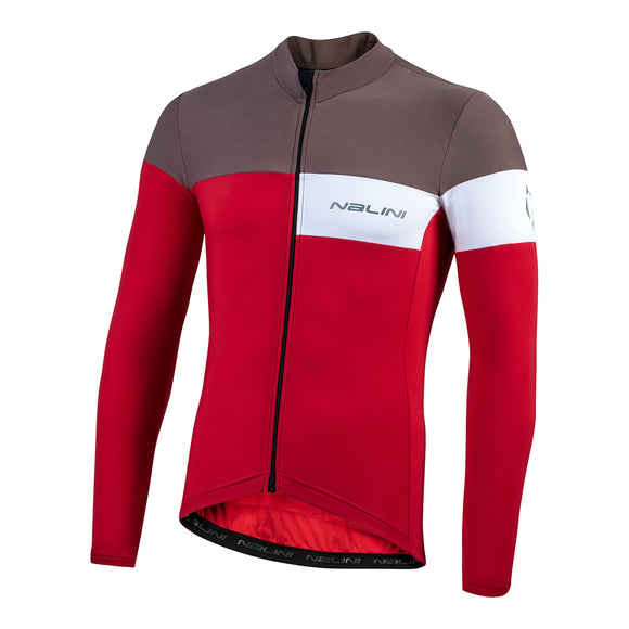 Nalini Corsa Winter Long Sleeve Jersey Red