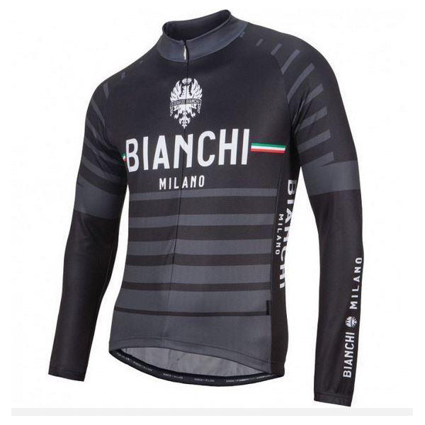 d4d28dbfe Bianchi Milano SUCCISO Black Long Sleeve Cycling Jersey – Nalini USA