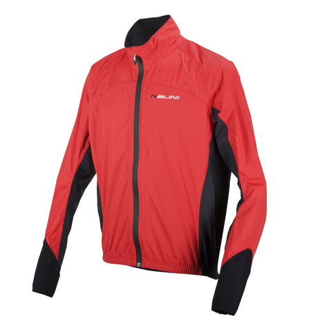 2017 Nalini Evo Wind/Rain Jacket (Red)