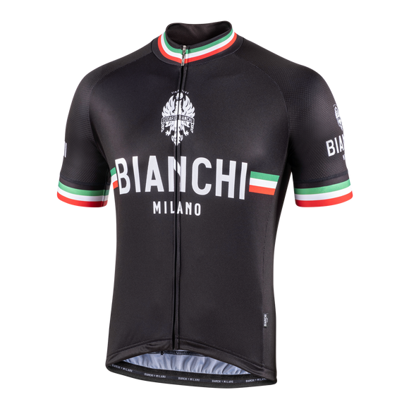 2020 Bianchi-Milano ISALLE SS Jersey - BLACK