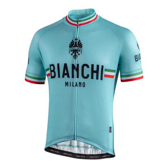2020 Bianchi-Milano ISALLE SS Jersey - CELESTE