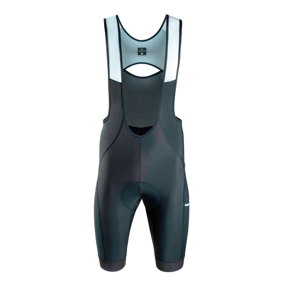2020 Nalini Los Angeles 1984 Bib Shorts Black GRAVEL (SALE)
