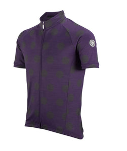 Nalini Mentore Purple Wool Cycling Jersey