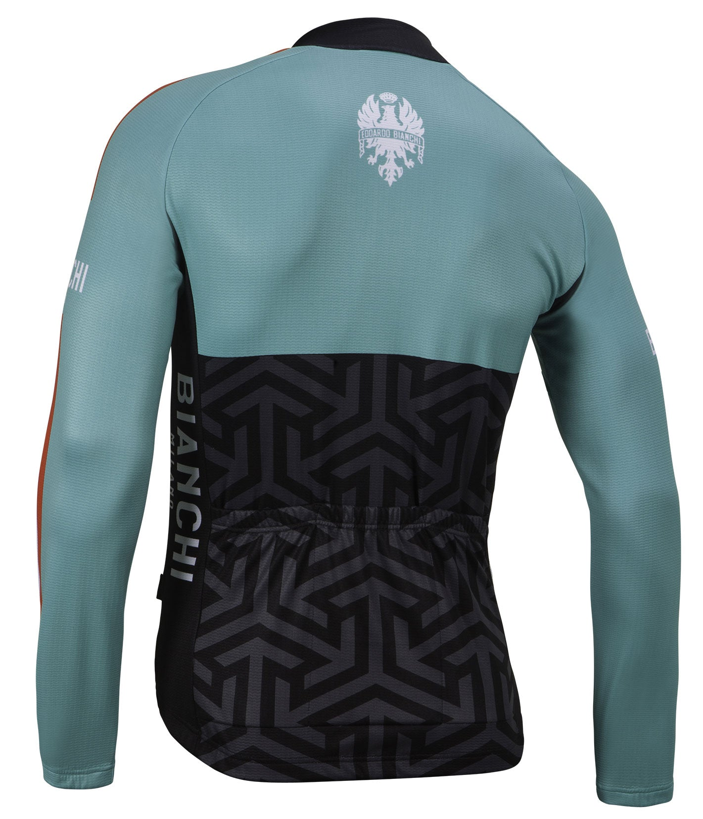 ... Bianchi Milano Montalto Celeste LS Jersey 2018 - Black Celeste  Bianchi  Milano Montalto Celeste Long Sleeve Cycling Jersey 47ad8ee6a