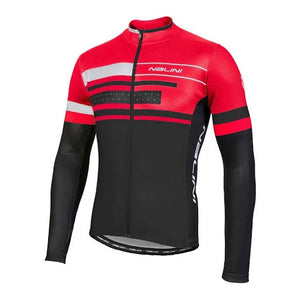 Nalini Fatica AHS LS Jersey - Black/Red - SALE