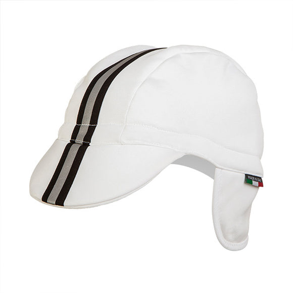 Nalini Giustino Winter Cycling Cap - White