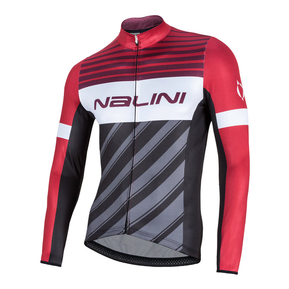 2018 Nalini MIZAR Long Sleeve Jersey - Red