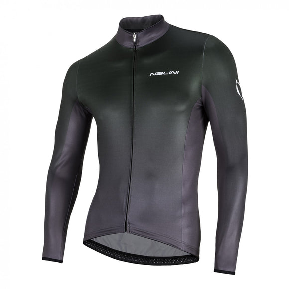 Nalini MIZAR Long Sleeve Jersey - Grey - Sale