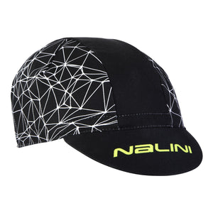Nalini Cycling Cap Rocca Summer (Black/Yellow)