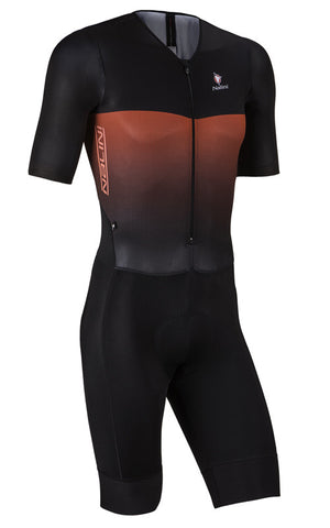 2017 Nalini XBlack Body SS Skinsuit - Blk/Red