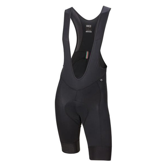 2017 Nalini New Mavone 2 Bib Shorts (All Black)