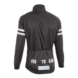 Nalini Pro Gara Black Jacket - Rear View