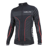 Nalini Teverone Black/Red Long Sleeve Jersey