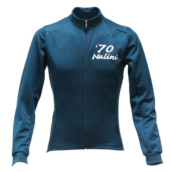 Nalini ELITE2 Long Sleeve Deep Green Wool Jersey