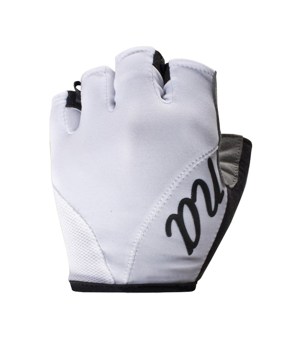 Nalini Women's Cycling Gloves - White