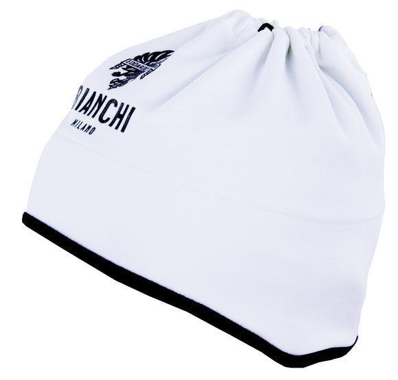 Bianchi-Milano WHITE 3-in-1 Face Mask, Cycling Cap or Neck Gaiter 2021