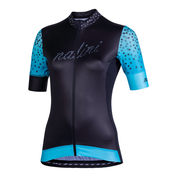 Nalini Stilosa 2.0 Women's Black/Blue SS Jersey (SALE)