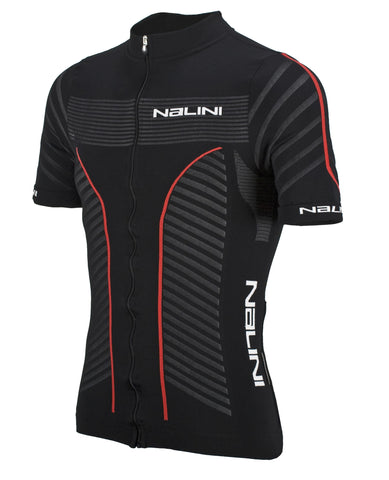 Nalini Taverino Seamless SS Jersey - Black/Red