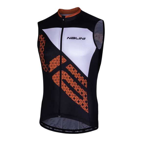 2019 Nalini Volata 2.0 Sleeveless Jersey Black/Red