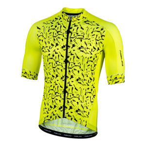 2020 Nalini Sydney SS Jersey - Yellow/Black Graffiti