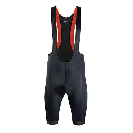 2020 Nalini Athens Bib Shorts - Black/Red