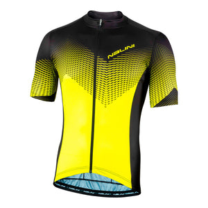 2020 Nalini Atlanta 1996 SS Jersey - Black/Yellow Neon