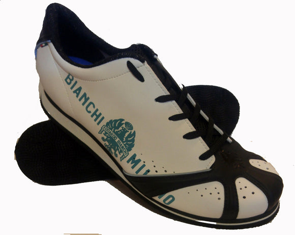 Bianchi Milano White Crab Casual Shoes Size 46