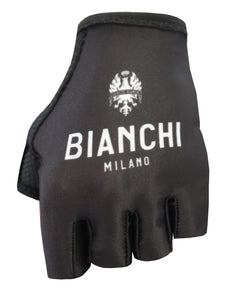 Bianchi Milano Black Cycling Gloves - Divor