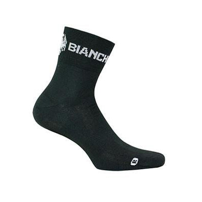 Bianchi-Milano Asfalto Coolmax Black Cycling Socks