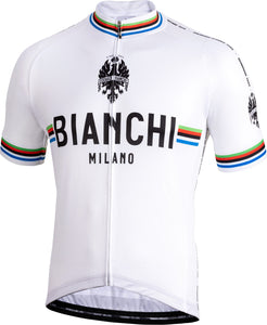 ca75cd9f419 Bianchi Milano Pride Short Sleeve Cycling Jersey (White) – Nalini USA