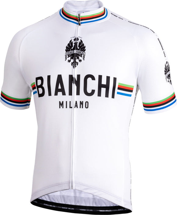 Bianchi-Milano New Pride White SS Jersey