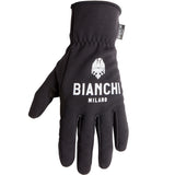Bianchi-Milano Winter Osio Cycling Gloves - Black