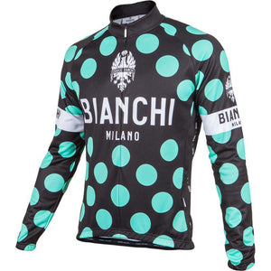 Bianchi Milano Polka Dot Long Sleeve Cycling Jersey – Nalini USA f75658343