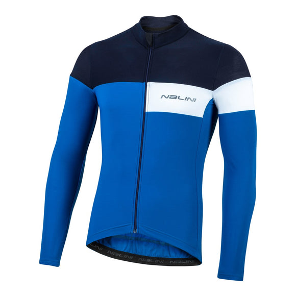 2020 Nalini CORSA Long Sleeve Jersey - Blue
