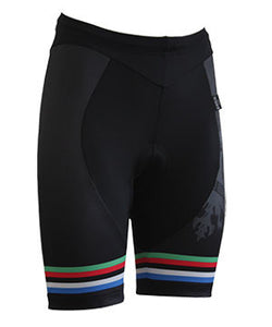 Bianchi Milano Women's Black WC Cycling Shorts