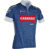 Team Carrera Retro SS Jersey (Blue)