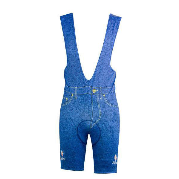innovative design 27240 7494b Team Carrera Blue Jeans Bib Shorts