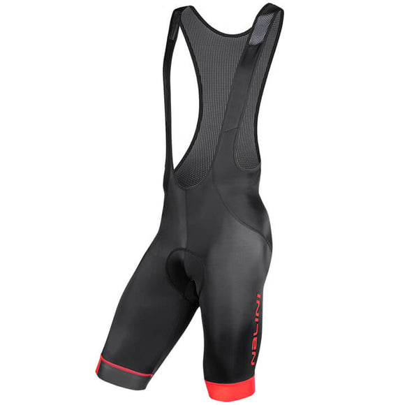 Nalini Gregario 2.0 Black/Red Bib Shorts