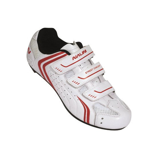 Nalini Mako White Road Cycling Shoes